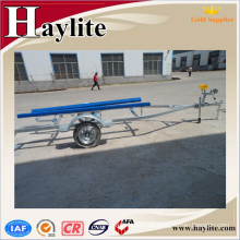 Full hot dip galvanized bunk type jetski boat trailer